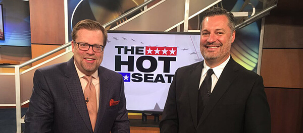 Noble McIntyre on The Hot Seat TV segment