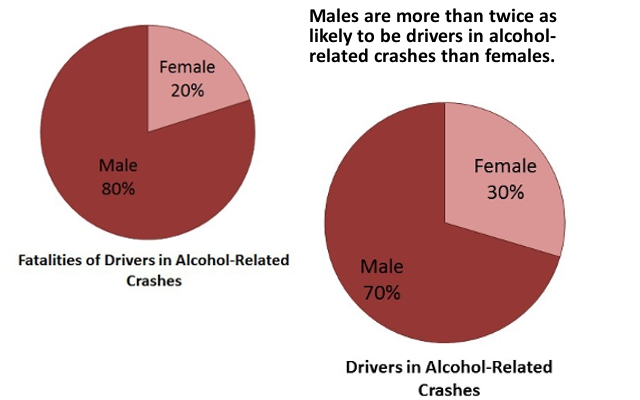 Alcohol-Related Fatalities by Gender
