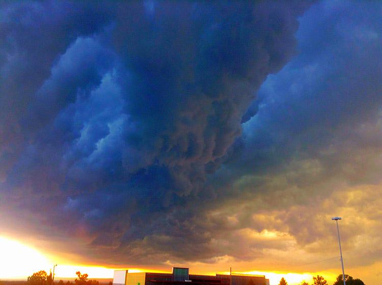 Tornado Funnel Cloud