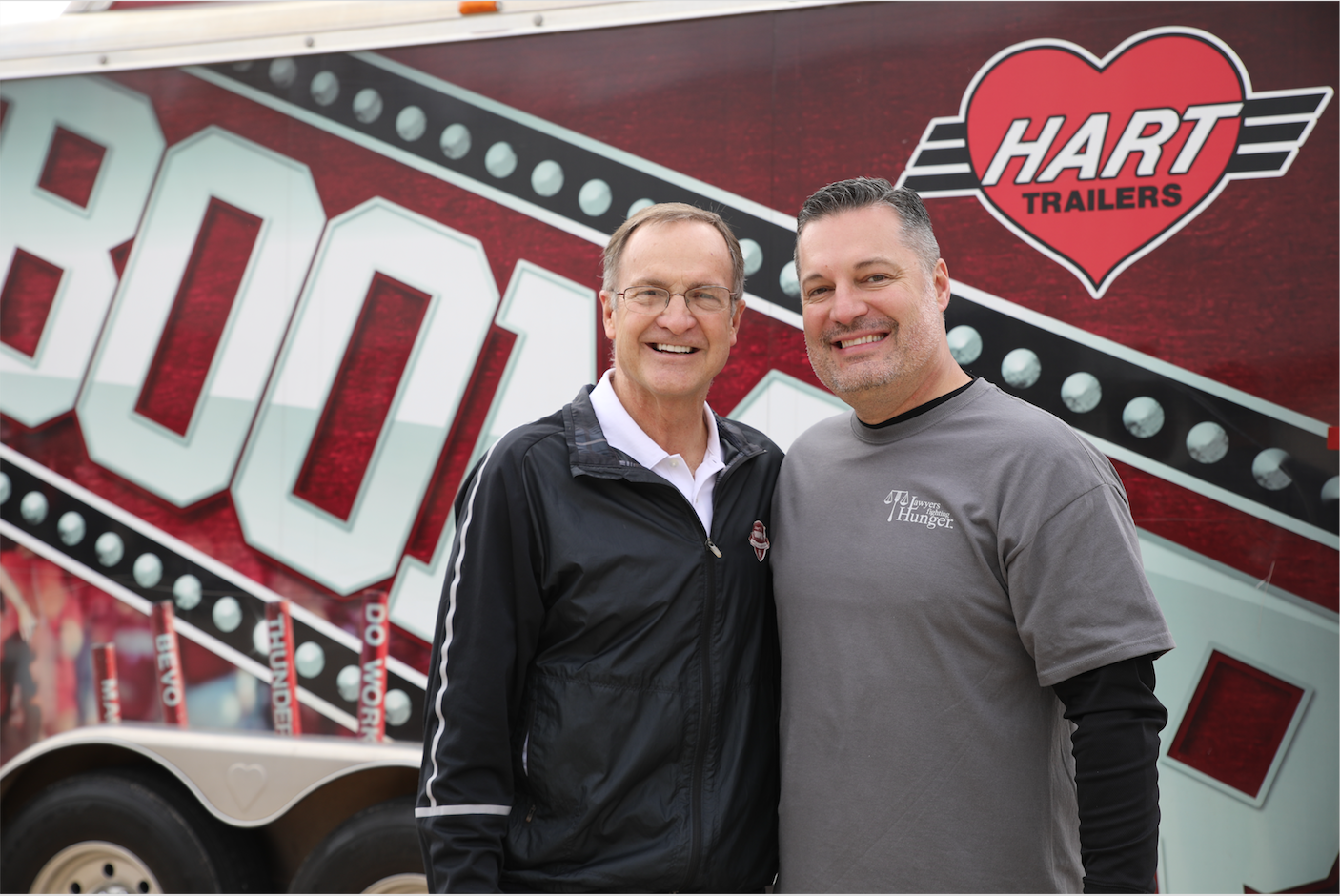 Lon Kruger with Noble McIntyre