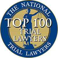 national top 100 lawyers logo
