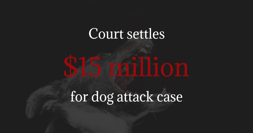 Jury Awards $15 million judgment for dog attack case