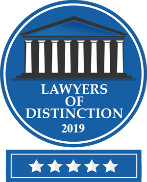 2019 Lawyer of Distinction Award