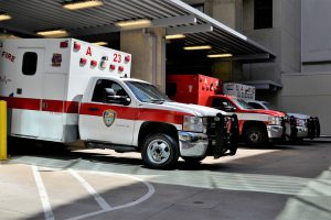Oklahoma City, OK – Woman Injured in Crash Involving Fire Truck