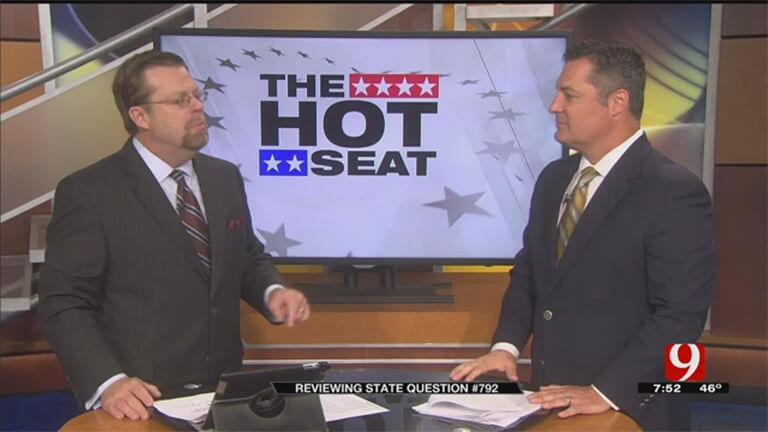 Noble McIntyre on TV segment The Hot Seat