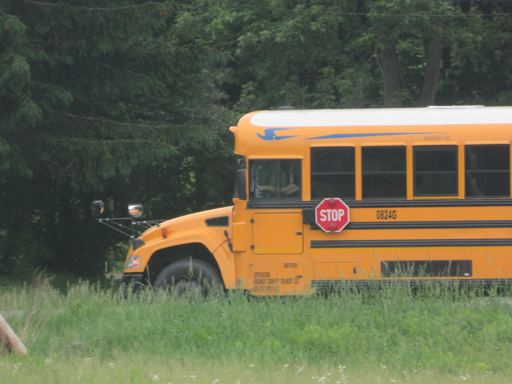 Oklahoma City, OK – Six Children Injured in Yukon School Bus Crash with Vehicle on Russell Road