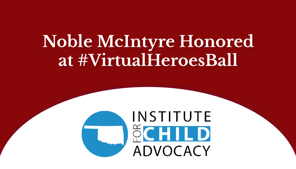 Noble McIntyre honored at #VirtualHeroesBall 2020